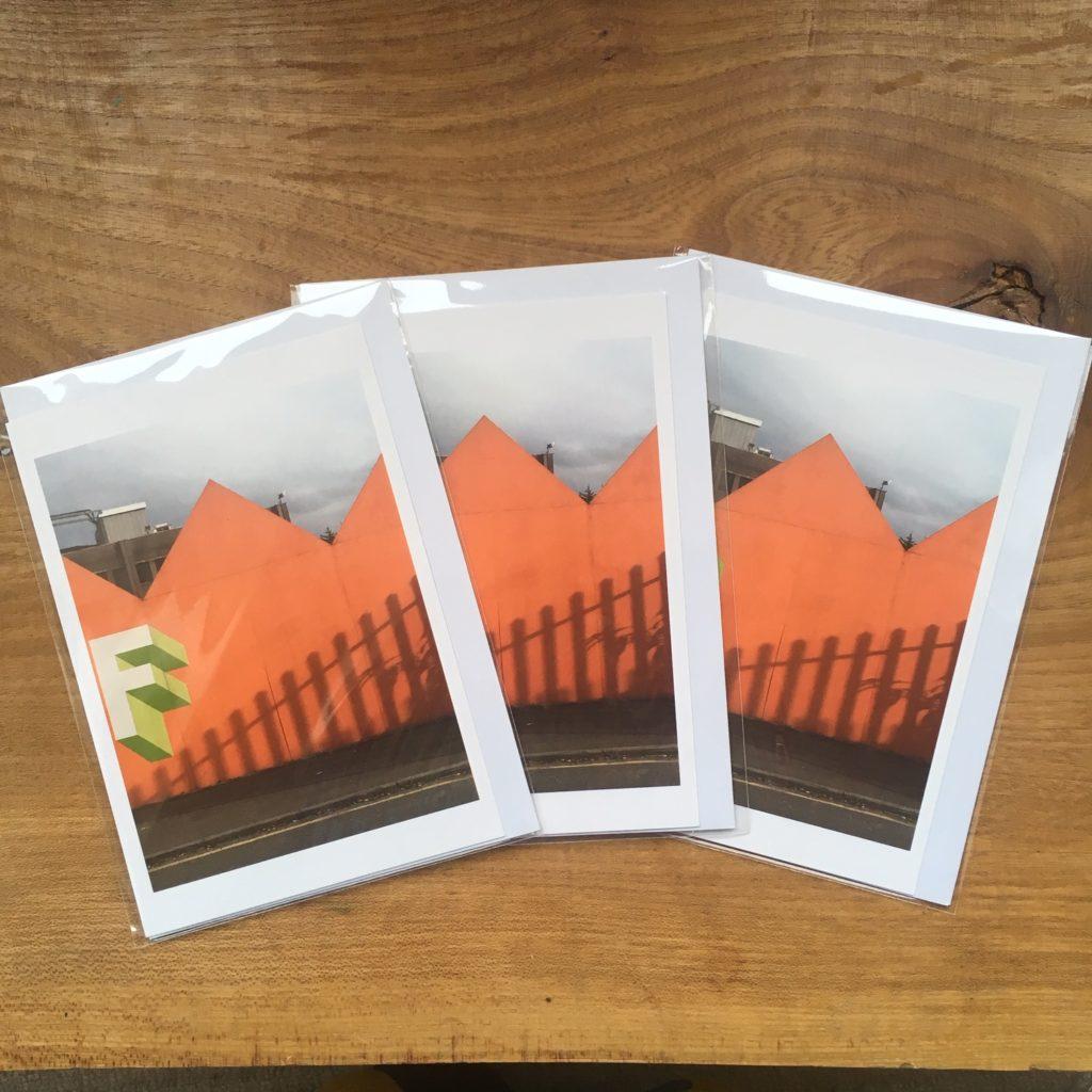 Three photo print cards